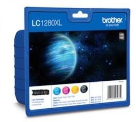 Originální inkousty Brother LC-1280XLVALBP, multipack