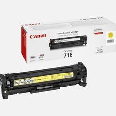Originální toner Canon CRG-718Y (2659B002), žlutý