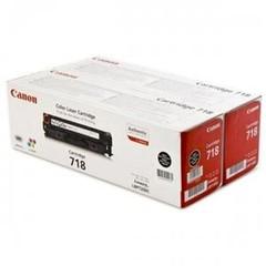 Originální toner Canon CRG-718BK, 2662B005, dvojbalení