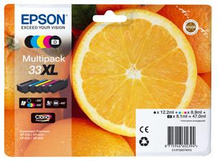 Originální inkousty Epson 33XL, C13T33574011, multipack
