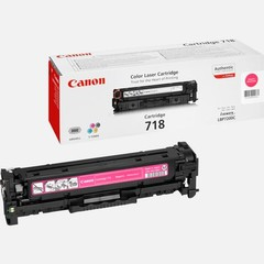 Originální toner Canon CRG-718M (2660B002), purpurový