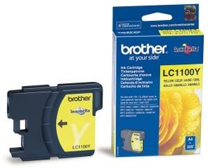 Originální inkoust Brother LC-1100Y