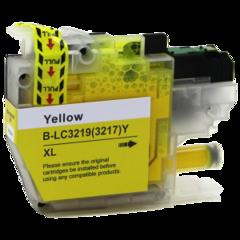 Kompatibilní inkoust s Brother LC-3217Y/LC-3219YXL žlutý