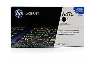 Originální toner HP CE260A, (647A)