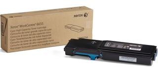 Originální toner Xerox 106R02752, azurový