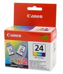 Originální inkoust Canon BCI-24 barevný TWIN (6882A009)