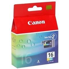 Originální inkoust Canon BCI-16C, 9818A002, dvojbalení