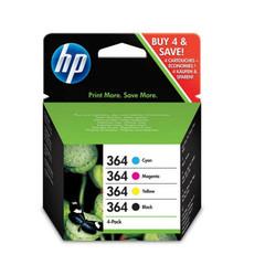 Originální inkousty HP 364 (N9J73AE) 4-PACK