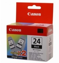 Originální inkoust Canon BCI-24 černý TWIN (6881A009)