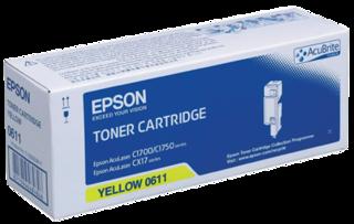 Originální toner Epson 0611, C13S050611 (XL)