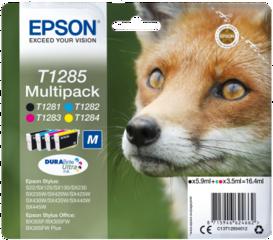 Originální inkousty Epson T1285, C13T12854012, multipack
