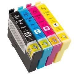 Kompatibilní inkoust s Epson T2996 černý, modrý, červený, žlutý