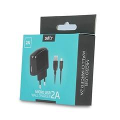 Micro USB cestovní nabíječka SETTY 2A