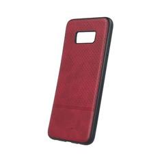 Plastové pouzdro BEEYO pro Samsung S9 G960 - umělá kůže - červené