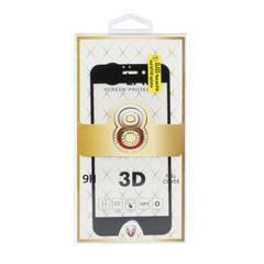 Tvrzené sklo 3D Protector pro iPhone 7 / iPhone 8 - černé