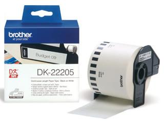 Originální papírová role Brother DK-22205