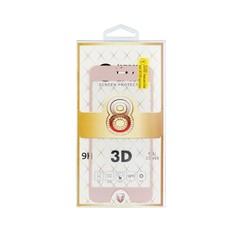 Tvrzené sklo 3D Protector pro iPhone 7 Plus / 8 Plus - růžovo-zlaté