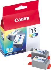 Originální inkoust Canon BCI-15CL (8191A002), dvojbalení