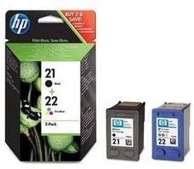 Originální inkoust HP 21 + HP 22 (SD367AE), 2-Pack