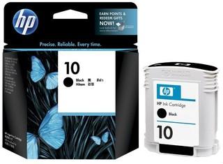 Originální inkoust HP 10 (C4844AE), černý