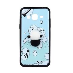 Plastové pouzdro pro Samsung S8 G950 - bílo modré - panda