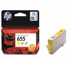 Originální inkoust HP 655 (CZ112AE) žlutý
