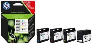 Originální inkousty HP 932XL + HP 933XL (C2P42AE), 4-Pack