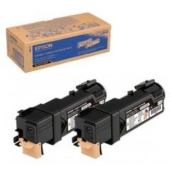 Originální toner Epson 0631Bk, C13S050631, dvoubalení