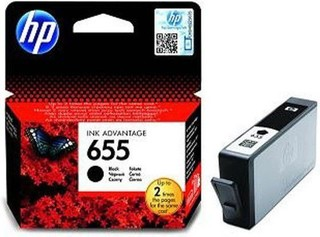 Originální inkoust HP 655 (CZ109AE) černý