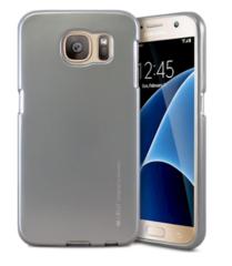 Silikonové pouzdro Mercury iJELLY pro iPhone X - šedé