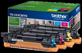 Originální tonery Brother TN-243CMYK, multipack
