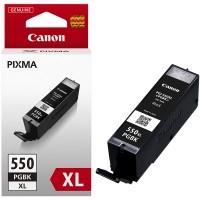 Originální inkoust Canon PGI-550PGBKXL (6431B001), pigmentová černá, 22 ml.