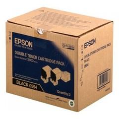 Originální toner Epson S050594, C13S050594, dvojbalení