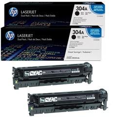 Originální toner HP CC530AD (304A) Dvojbalení