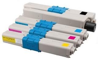Kompatibilní tonery s OKI C332, MC363 Bk/C/M/Y 46508712