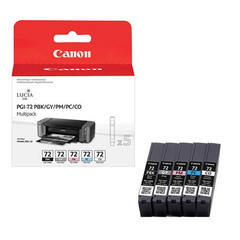 Canon PGI-72 PBK/GY/PM/PC/CO Multipack