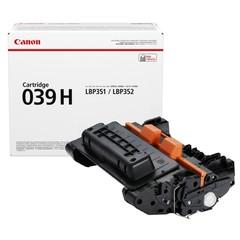 Originální toner Canon 039H, CRG-039HBK, 0288C001