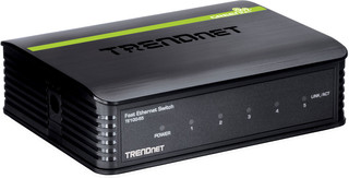 TRENDnet TE100-S5 Switch, 5 port