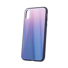 Aurora Glass pouzdro pro Samsung J4 Plus 2018 - hnědo černá