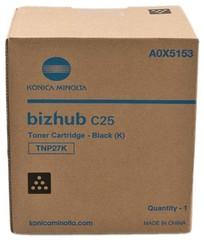 Originální toner Konica Minolta TNP-27K, A0X5153