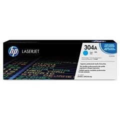 Originální toner HP CC531A (304A) azurový