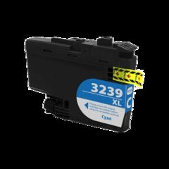 Kompatibilní inkoust s Brother LC-3239XL azurový