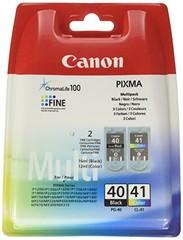 Originální inkoust Canon PG-40 + CL-41 (0615B043), černý 16 ml + barevný 12 ml
