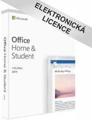 Microsoft Office 2019 pro domácnosti a studenty, CZ, 79G-05078