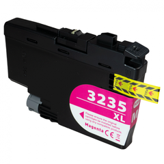 Kompatibilní inkoust s Brother LC-3235XL purpurový