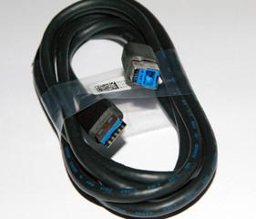 Dell USB 3.0 kabel propojovací, A-B, 1,8m, černý, CNPN81N